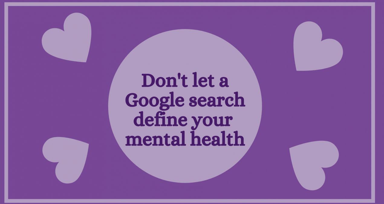 Don't let a Google search define you