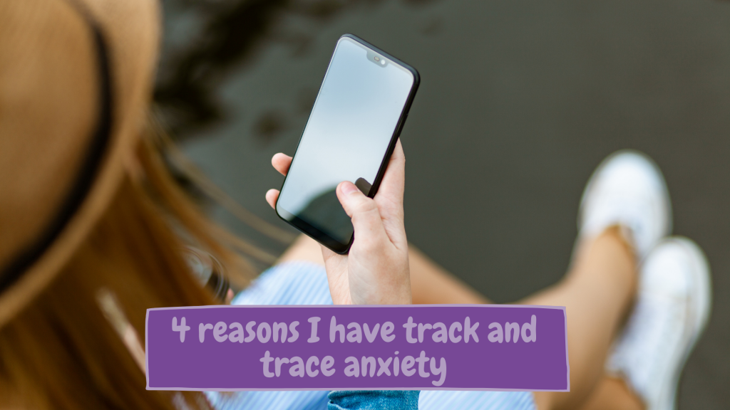 Just A Square Peg - Track and trace app anxiety