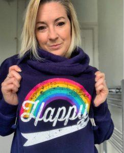 Beth Happy hoodie